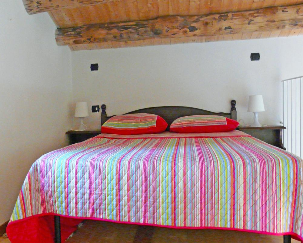 double bedroom (mezzanine)